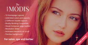 Download free Modis v1.2.4 – Salon & Barber WordPress Theme