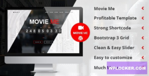 Download free Movie Me v4.4 – One Page Responsive WordPress Theme
