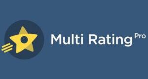 Download free Multi Rating Pro v6.0.2 – WordPress Plugin