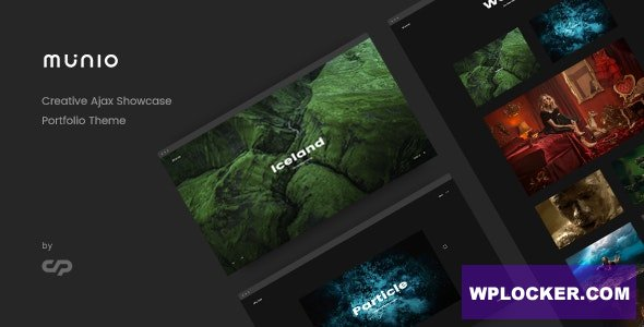 Download free Munio v1.3 – Creative Portfolio Theme