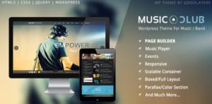 Download free Music Club – Band | Party WordPress v1.8.1