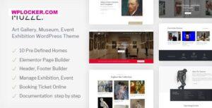 Download free Muzze v1.2.5 – Museum Art Gallery Exhibition WordPress Theme
