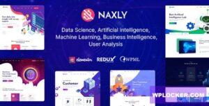 Download free Naxly v1.1 – Data Science & Analytics WordPress Theme