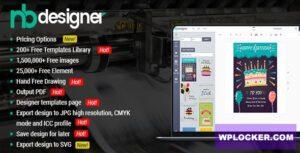 Download free Nbdesigner Pro v2.7.2 – Online Woocommerce Products Designer Plugin