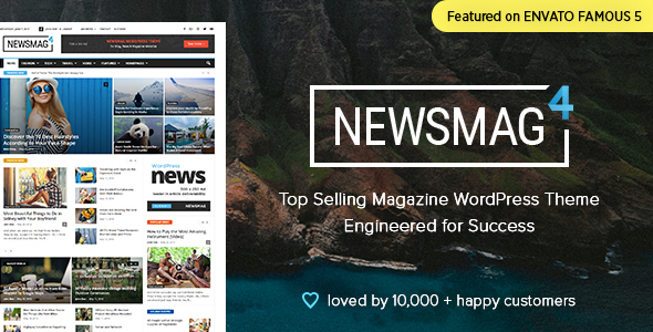 Download free Newsmag v4.9.5 – News Magazine Newspaper