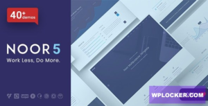 Download free Noor v5.5.19 – Fully Customizable Creative AMP Theme