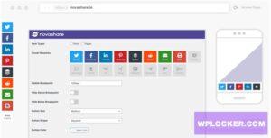 Download free Novashare v1.0.8- WordPress Social Sharing Plugin