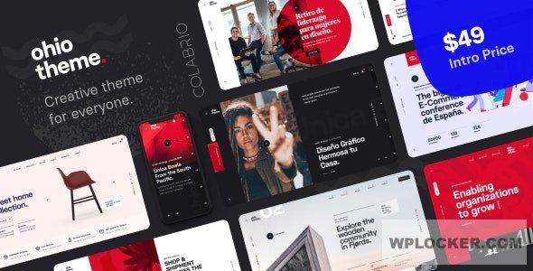 Download free Ohio v1.2.1 – Creative Portfolio & Agency WordPress Theme