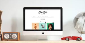 Download free Oliver v1.1.5 – Classic & Minimal Portfolio Theme