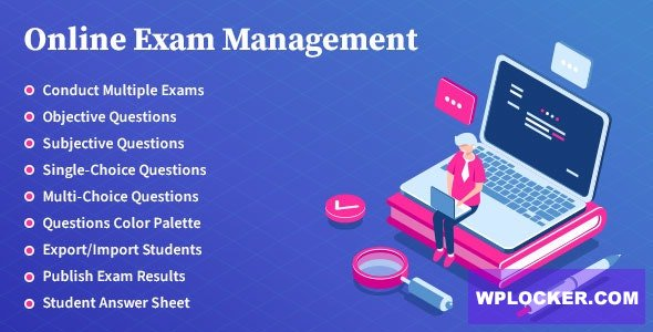 Download free Online Exam Management v1.8 – Education & Results Management