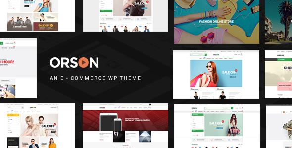Download free Orson v3.0 – Innovative Ecommerce WordPress Theme