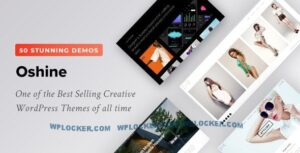 Download free Oshine v6.9.3 – Creative Multi Purpose Theme