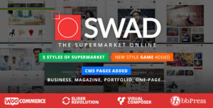 Download free Oswad v3.2.0 – Responsive Supermarket Online Theme