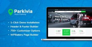 Download free Parkivia v1.1.2 – Auto Parking & Car Maintenance WordPress Theme