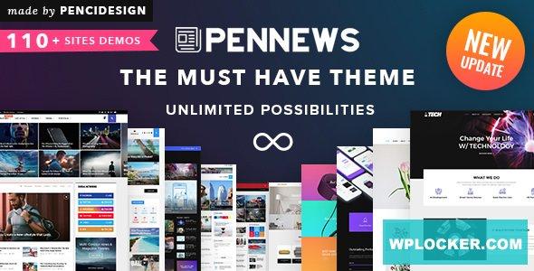 Download free PenNews v6.5.9 – News/ Magazine/ Business/ Portfolio