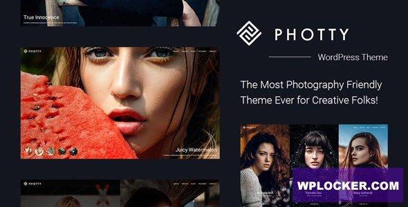 Download free Photty v24.0 – Photography WordPress Theme