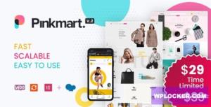 Download free Pinkmart v2.7.5 – AJAX theme for WooCommerce