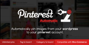Download free Pinterest Automatic Pin WordPress Plugin v4.14.2