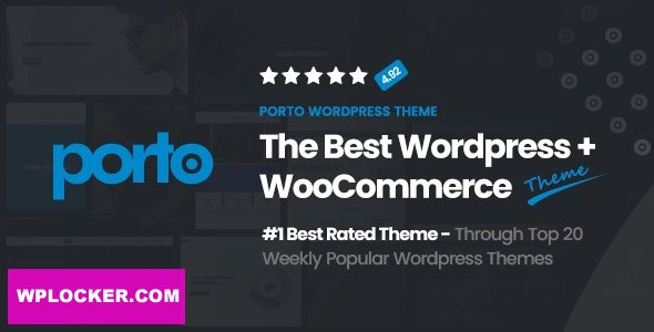Download free Porto v5.4.4 – Responsive eCommerce WordPress Theme