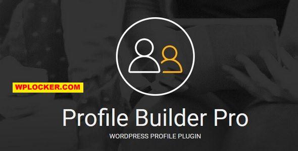 Download free Profile Builder Pro v3.2.4 + Addons Pack
