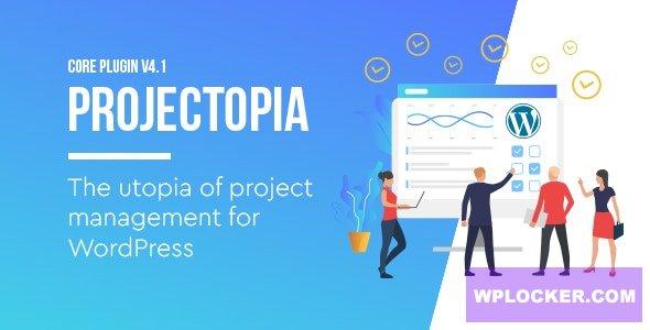 Download free Projectopia v4.3.6 – WordPress Project Management Plugin