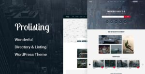 Download free Prolisting v1.28 – Directory Listing WordPress Theme