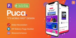 Download free Puca v2.1.1 – Optimized Mobile WooCommerce Theme