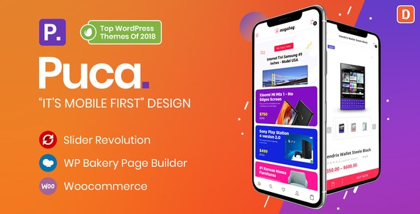 Download free Puca v2.1.4 – Optimized Mobile WooCommerce Theme