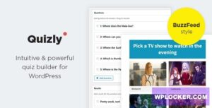 Download free Quizly v1.0.2 – Intuitive & Powerful Quiz Plugin for WordPress