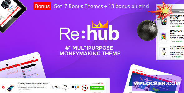 Download free REHub v11.8 – Price Comparison, Business Community