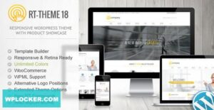 Download free RT-Theme 18 v2.2.1 – Responsive WordPress Theme