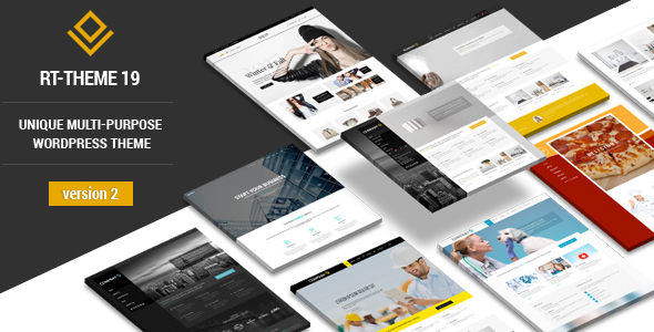 Download free RT-Theme 19 v2.9.3 – Responsive Multi-Purpose WP Theme