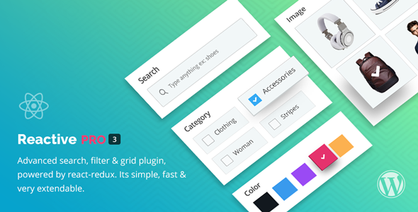 Download free Reactive Pro v4.0.7 – Advanced Search Filter Map & Grid
