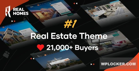 Download free Real Homes v3.11.1 – WordPress Real Estate Theme