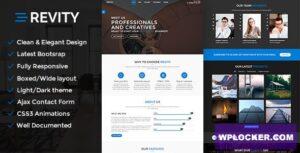 Download free Revity v1.2.4 – One page WordPress Theme