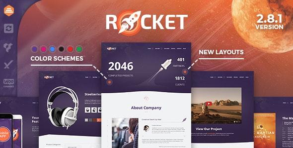 Download free Rocket v2.9.0 – Creative Multipurpose WordPress Theme