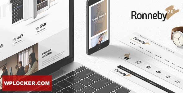 Download free Ronneby v3.2.6 – High-Performance WordPress Theme