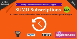 Download free SUMO Subscriptions v12.0 – WooCommerce Subscription System