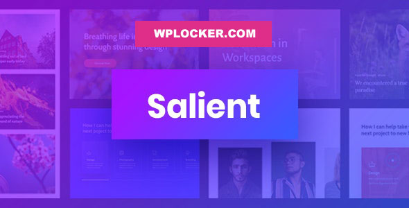 Download free Salient v12.1.1 – Responsive Multi-Purpose Theme