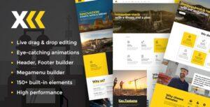 Download free Samatex v2.2 – Industrial WordPress Theme + Woocommerce