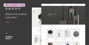 Download free Savoy v2.4.5 – Minimalist AJAX WooCommerce Theme