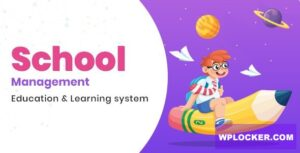 Download free School Management v5.8 – Education & Learning Management system for WordPress