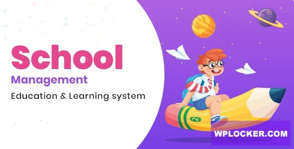 Download free School Management v5.8 – Education & Learning Management system for WordPress
