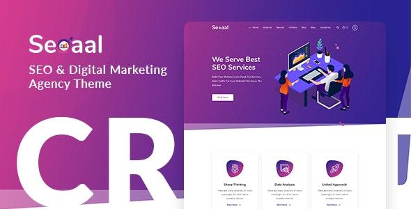 Download free Seoaal v1.0.3 – SEO & Digital Marketing WordPress Theme