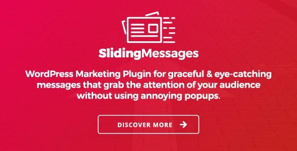 Download free Sliding Messages v3.4 – WordPress Marketing Plugin