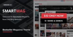 Download free SmartMag v3.3.1 – Responsive & Retina WP Magazine