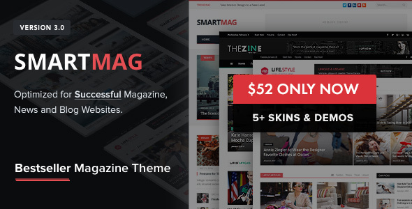 Download free SmartMag v3.3.1 – Responsive & Retina WP Magazine