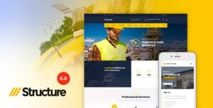 Download free Structure v6.9.2 – Construction WordPress Theme