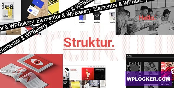 Download free Struktur v2.0 – Creative Agency Theme