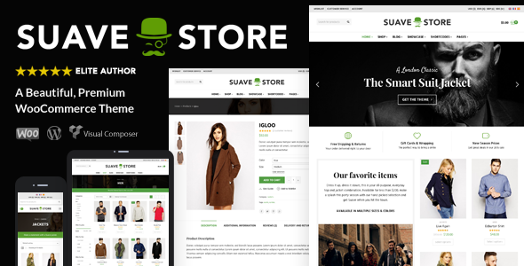 Download free Suave v1.9.8 – Multi-Purpose WooCommerce Theme